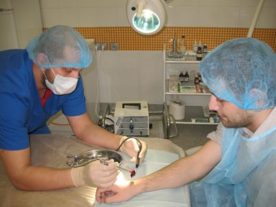 Заживление фурункула после вскрытия. Как проходит операция по вскрытию фурункула